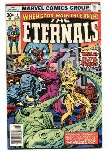THE ETERNALS #8 1st  Karkas Comic Book Marvel 1976