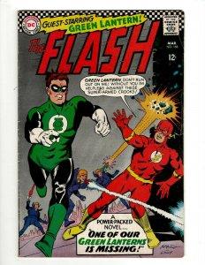 Flash # 168 FN DC Comic Book Superman Batman Wonder Woman Green Lantern KD1