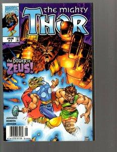 12 Comics Thor 7 9 10 11 12 21 +Resurrection Askani'son 1-4 Thunderbolts 11 EK22