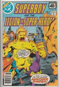 Superboy #251 (May-79) FN/VF Mid-High-Grade Superboy, Legion of Super-Heroes
