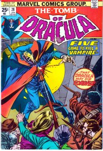 Tomb of Dracula(vol. 1) # 28  Very Fine/Near Mint Condition
