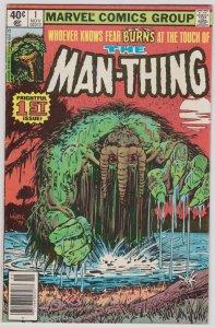 Man-Thing #1 (Volume 2) (VG+)