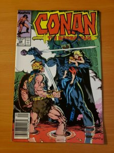 Conan The Barbarian #198 Newsstand Edition ~ NEAR MINT NM ~ 1987 Marvel