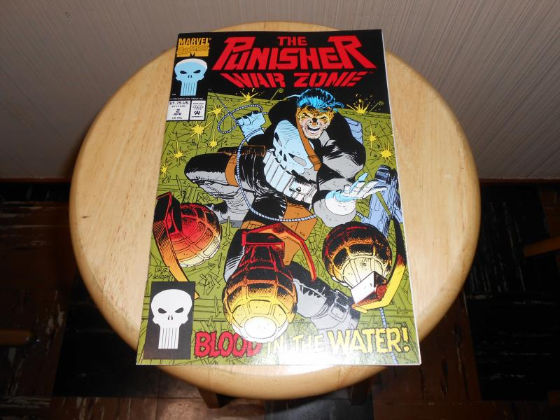 Punisher War Zone (1992) #2 Apr 1992 Cover price $1.75 Marvel