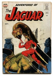 Adventures of the Jaguar #1 1961- Archie comics- First issue VG-