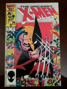Uncanny X-Men #211 (1986 Marvel) Mutant Massacre Part 2 - 1st app Marauders
