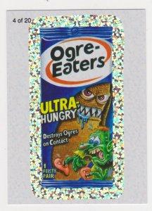 2010 Topps Wack-O-Mercials Sticker #4 Ogre-Eaters