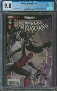 Amazing Spider-Man #790 CGC Graded 9.8 Human Torch & Clash appearance