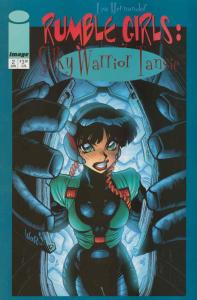 Rumble Girls: Silky Warrior Tansie #2 VF/NM; Image | save on shipping - details