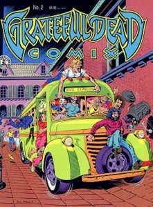 The Grateful Dead Comix #2 vol1 VF 8.0