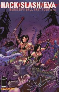 Hack/Slash/Eva: Monster's Ball #4 VF/NM; Dynamite | save on shipping - details i