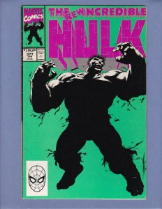 Incredible Hulk #377 VG 1st Appearance Professor Hulk 1st Print Marvel 1991
