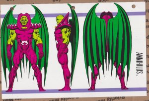 Official Handbook of the Marvel Universe Sheet - Annihilus