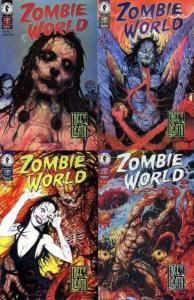 ZOMBIE WORLD TREE OF DEATH (1999 DH) 1-4  complete set!