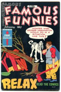 Famous Funnies #175 1949- relax read the comics- Buck Rogers FN+