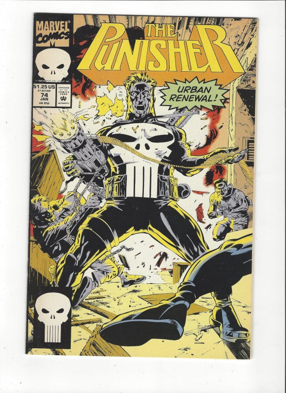 The Punisher #74 (1987)  Urban Renewal Marvel Comics NM