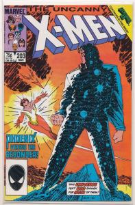 Marvel The Uncanny X-MEN #203 VF (RU007)