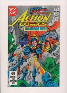 Lot of 6-DC Action Comics #530/535/536/537/542/ SUPERMAN FINE/VERY FINE (SRU150)