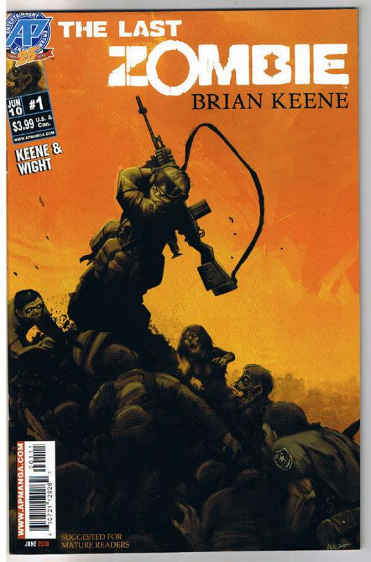 The LAST ZOMBIE #1, NM, 2010, undead, more Horror in store, Walking Dead, Army