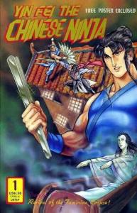 Yin Fei the Chinese Ninja #1 FN; Dr. Leung's | save on shipping - details inside