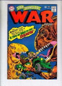 Star Spangled War Stories #136 (Jan-67) VG Affordable-Grade Dinosaur