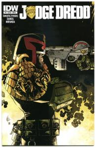 JUDGE DREDD #4 A, NM, IDW,  2012, Sci-fi, Police, I am the Law, more in store
