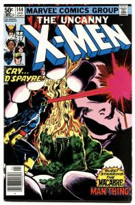 X-MEN #144 comic book 1981-MAN-THING-HIGH GRADE NM-