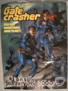 GATE CRASHER Promo poster,  19x25, 1999, Unused, more Promos in store