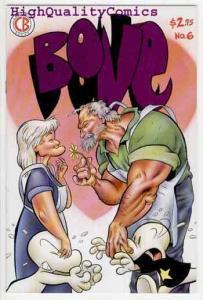BONE 6, VF, Jeff Smith, 1992, Smiley, 3rd, Cartoon Books, more in store