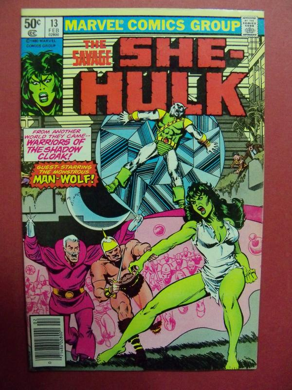 THE SAVAGE SHE-HULK #13  VF/NM (9.0) OR BETTER  MARVEL COMICS