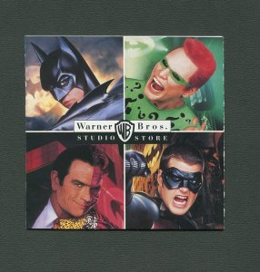1995 Batman Forever Promo Store Pamphlet / MINT