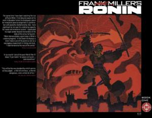 Ronin #1 VF/NM; DC | save on shipping - details inside