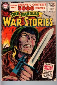 STAR SPANGLED WAR STORIES #48-1956-DC WAR COMIC-SILVER AGE-G/VG G/VG