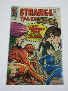 STRANGE TALES #129 (Marvel February 1965) G-VG Ditko Strange, Terrible Trio