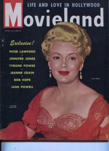 Movieland-Lana Turner-Irene Dunne-Bob Hope-Jane Powell-Apr-1949