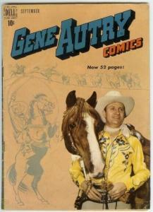 GENE AUTRY (1943-1959 FAWCETT/DELL) 31 VG PHOTOCOVER COMICS BOOK