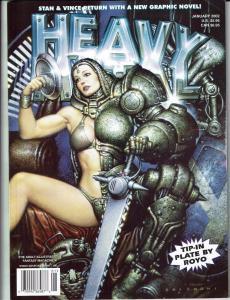 6 Heavy Metal Magazines #'s January March May July September November 2002 J84