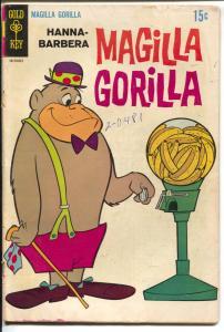 Magilla Gorilla #10 1968-Gold Key-Hanna-Barbera-banana machine-VG-