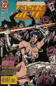 Justice League Task Force #20 VF/NM; DC | save on shipping - details inside
