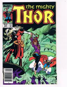 The Mighty Thor # 347 Marvel Comic Books Awesome Issue Modern Age WOW!!!!!!! S27