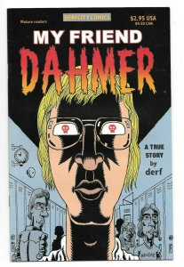 My Friend Dahmer #1 VF/NM Rare Low Print Run Derfcity Comics 2002 1st Print