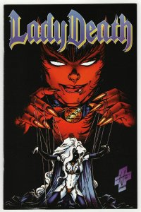 Lady Death II Between Heaven & Hell #3 (Chaos, 1995) NM