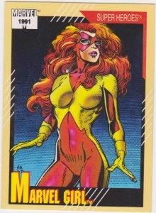 1991 Marvel Universe #4 Marvel Girl