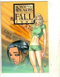 Lot of 7 Aspen Comic Books Aspen Seasons Fall 1 Cannon 5 4 3 2 1 Wildstorm SM11
