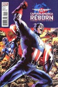 Captain America: Reborn #1, VF+ (Stock photo)