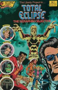 Total Eclipse: The Seraphim Objective #1 VF/NM; Eclipse | save on shipping - det