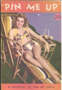 Pin Me Up 1944-WWII pin-up mag-Jane Russell-Lana Turner-Ava Gardner-FN+