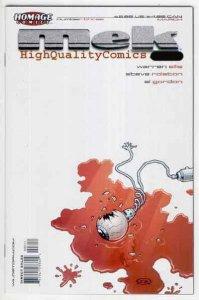 MEK #3, NM+, Warren Ellis, Steve Rolston, Robot, Homage, 2003