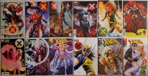 X-Men #1 #2 #3 #4 #5 #6 #7 #8 #9 #10 & #11  various Anacleto &  Parillo crain