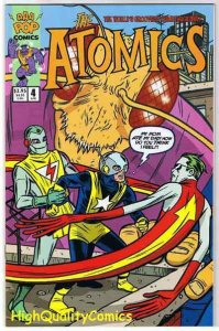 ATOMICS #4, NM+, Mike Allred, Madman, 2000, more Allred in store